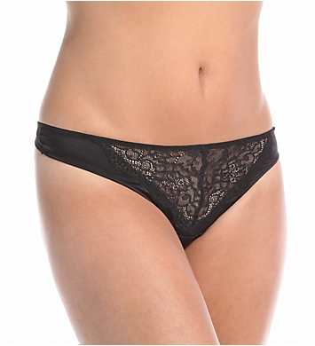 else Lingerie Signature Silk & Lace Thong