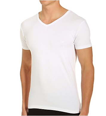 Emporio Armani Essentials Stretch Cotton V-Neck