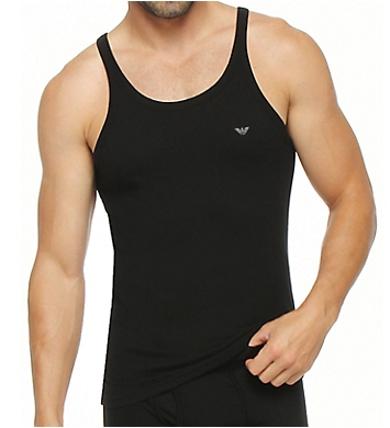 Emporio Armani Essentials Genuine 100% Cotton Tank Top - 3 Pack