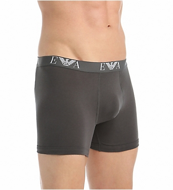 Emporio Armani 100% Cotton Boxer Briefs - 3 Pack