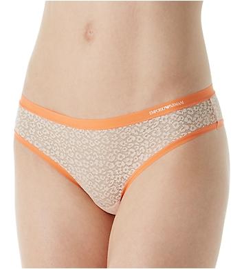 Emporio Armani Sexy Fancy Sauvage Mesh Brasilian Brief Panty