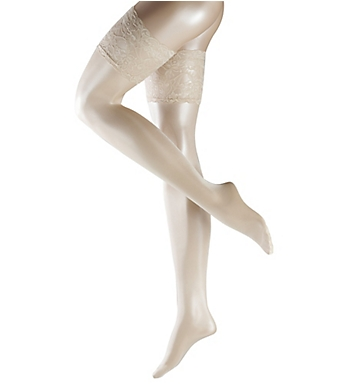 Falke Seidenglatt 15 Transparent Stay Up Thigh Highs
