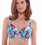 Sardinia Underwire Gathered Full Cup Swim Top