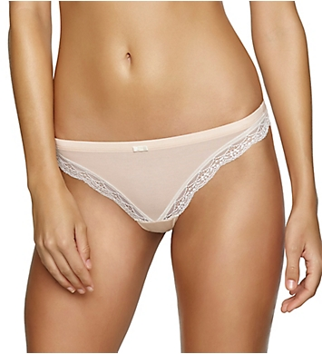 Felina Inviting Micro Modal with Lace Thong