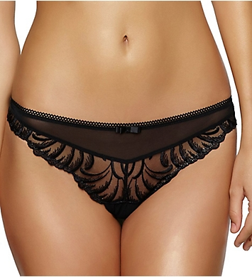 Felina Lana Embroidered Thong