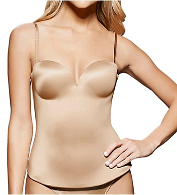 fine lines Low Back Strapless Convertible Bustier