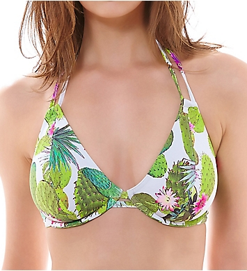Freya Cactus Underwire Halter Bikini Swim Top