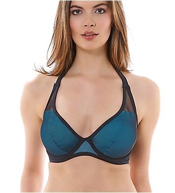 Freya Electra Underwire Banded Halter Bikini Swim Top