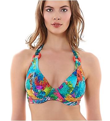 Freya Under the Sea Underwire Banded Halter Swim Top