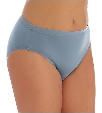 Fruit Of The Loom Fit For Me Microfiber Hi-Cut Panties - 5 Pack