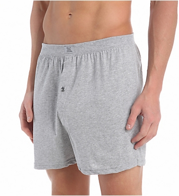 Fruit Of The Loom Men's Assorted 100% Cotton Knit Boxers - 5 Pack