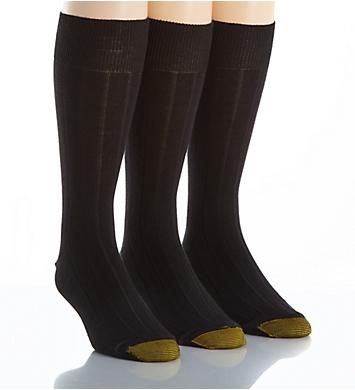 Gold Toe Hampton Moisture Control Crew Socks - 3 Pack
