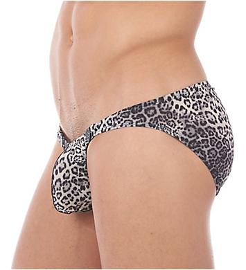 Gregg Homme Desire Leopard Print Snap Away Brief