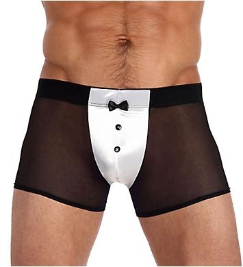 Gregg Homme Satin Knit Tuxedo Mesh Boxer