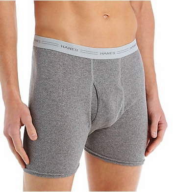 Hanes Original Cotton Boxer Briefs - 2 Pack