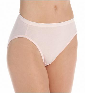 Hanes 100% Hi-Cut Panty - 4 Pack