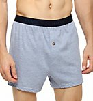 Premium Cotton Assorted Knit Boxers - 5 Pack