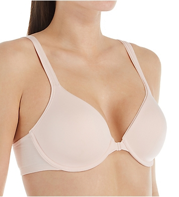 Hanes Ultimate T-Shirt Soft Front Closure Underwire Bra