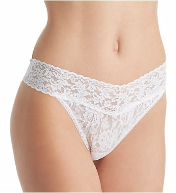 Hanky Panky Signature Lace Original Rise Thongs - 3 Pack