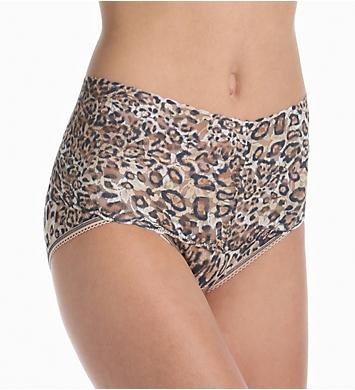 Hanky Panky Leopard Nouveau Retro V-Kini Panty