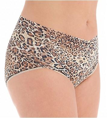 Hanky Panky Leopard Nouveau Plus Retro V-Kini Panty