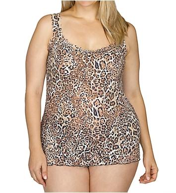 Hanky Panky Leopard Nouveau Plus Unlined Camisole
