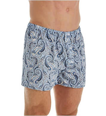 Hanro Fancy Woven 100% Cotton Boxers Gift Set - 2 Pack