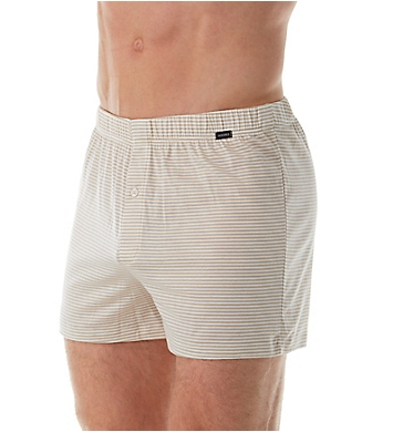 Hanro Sporty Stripe Jersey Cotton Boxer