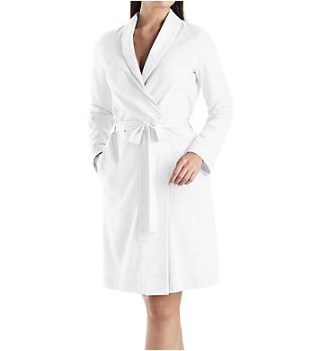 Hanro Cotton 3/4 Length Robe