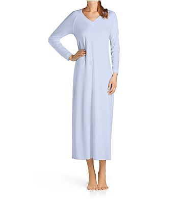 Hanro Pure Essence Long Sleeve Long Gown