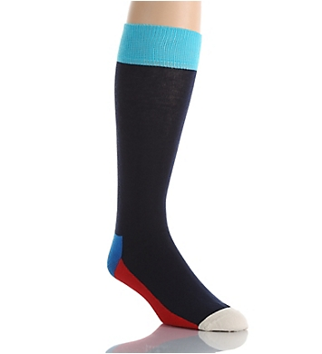 Happy Socks Combed Cotton Five Color Crew Sock