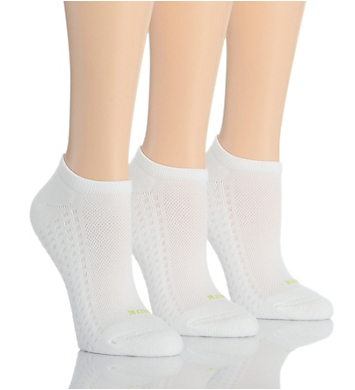Hue Air Cushion No Show Sport Sock - 3 Pair Pack