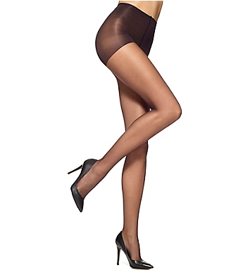 Hue Micro Texture Sheer Tights with Control Top