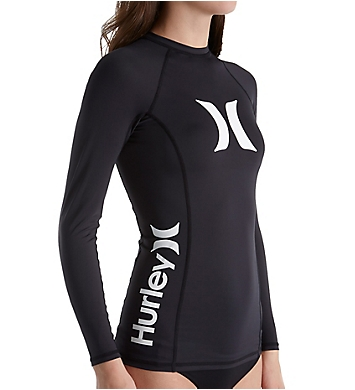 Hurley One & Only Long Sleeve Rash Guard