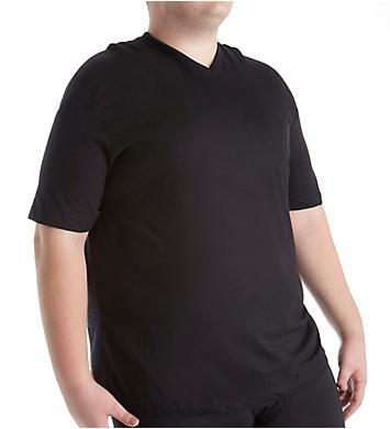 Jockey Big Man Stay Cool V-Neck T-Shirts - 2 Pack