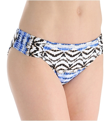 La Blanca Animale Instinct Side Shirred Hipster Swim Bottom