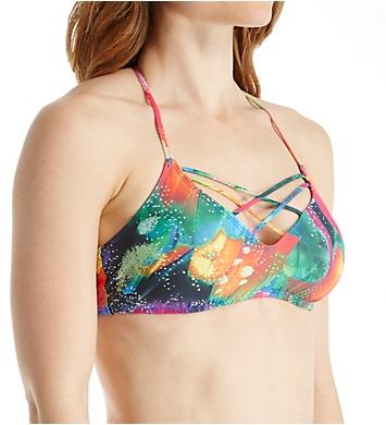 La Blanca Feathering Strappy Halter Swim Top