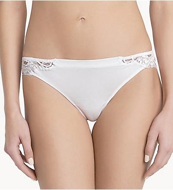 La Perla Souple Lace Trim Thong