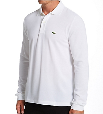 Lacoste Classic Pique 100% Cotton Long Sleeve Polo
