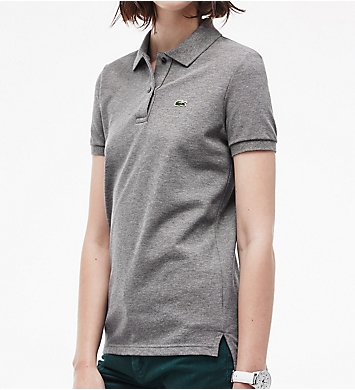 Lacoste Short Sleeve 2 Button Classic Fit Pique Polo
