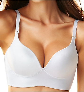 Leonisa Deep Plunge Wireless Longline Push Up Bra