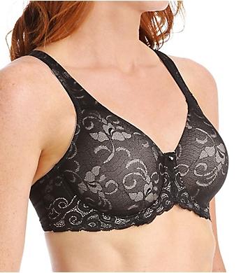 Lilyette Beautiful Support Lace Minimizer Bra
