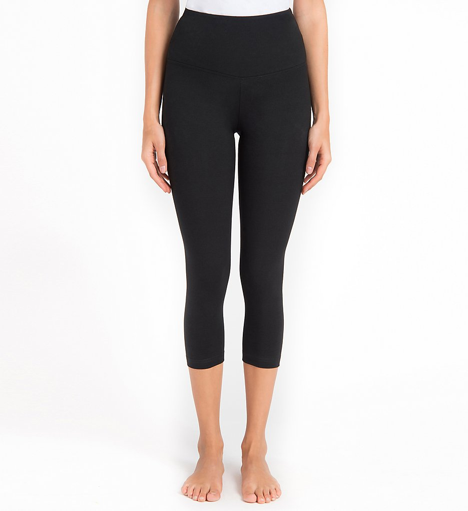 Lysse 1215 Shaping Capri Leggings (Black)