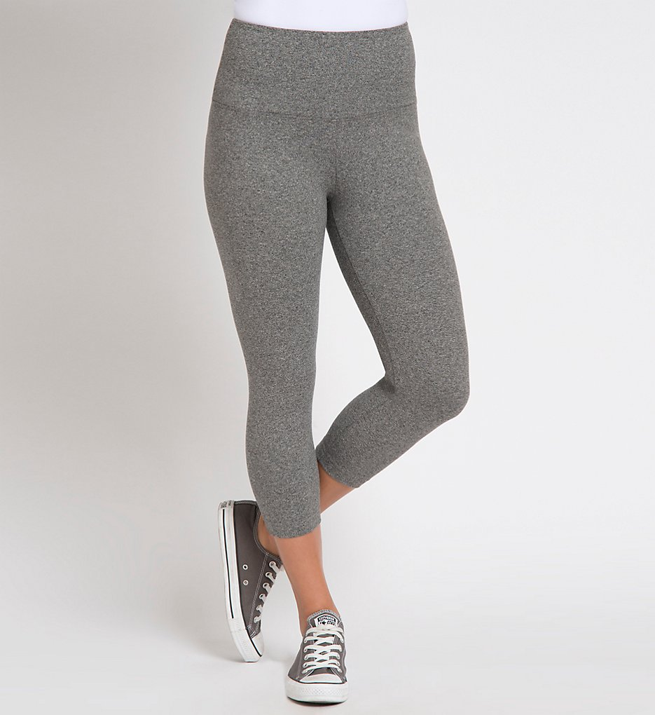 Lysse 1215 Shaping Capri Leggings (Salt & Pepper)