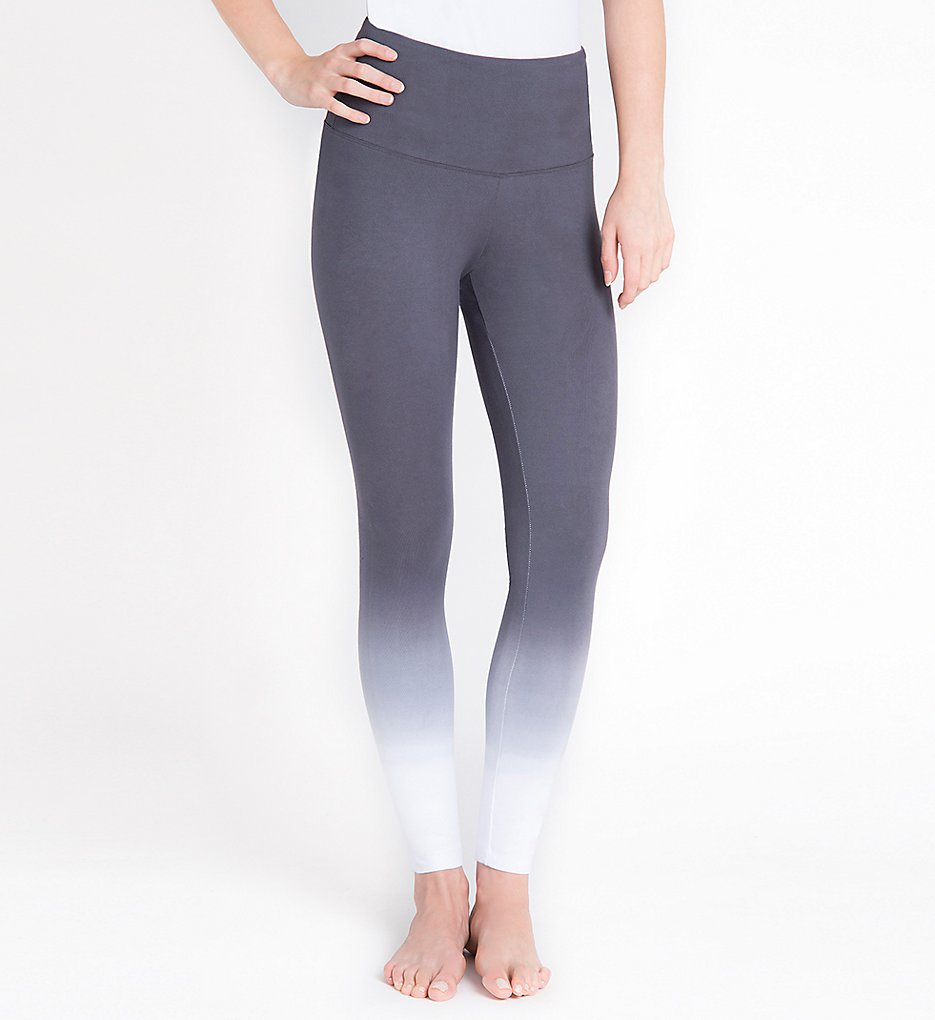 Lysse 1219 Tight Ankle Shaping Leggings (Grey Dip Dye)