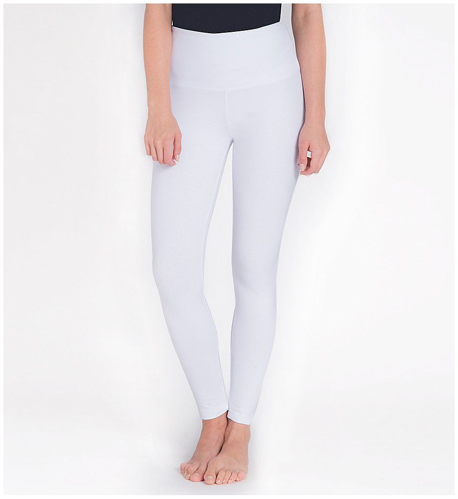 Lysse 1219 Tight Ankle Shaping Leggings (White)