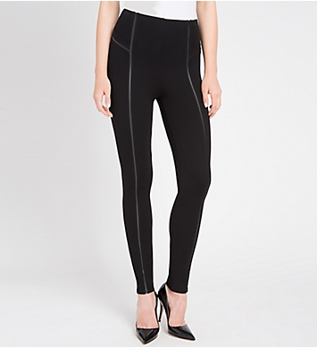 Lysse Leggings Faux Leather Insert Legging