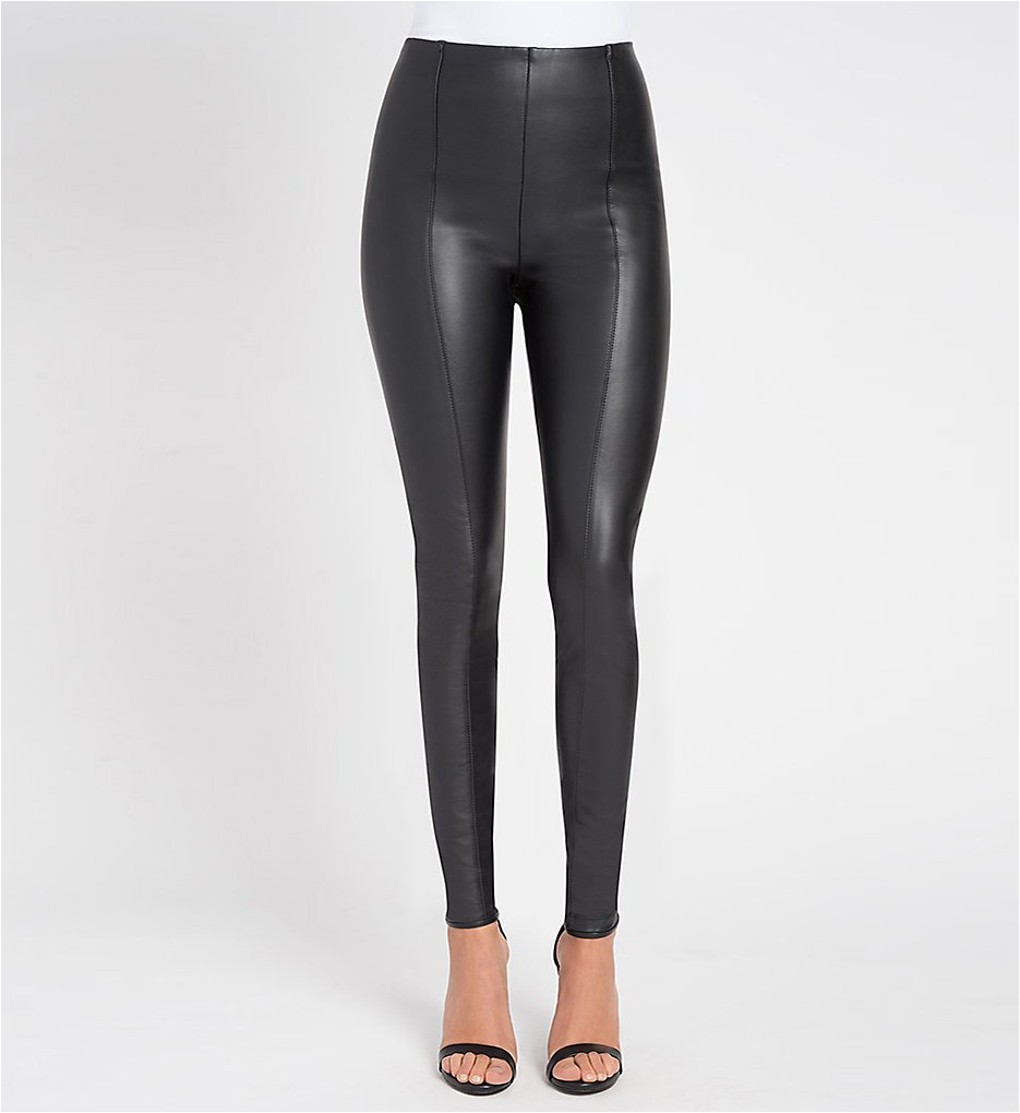 Lysse 1379 High Waist Vegan Leather Leggings (Black)