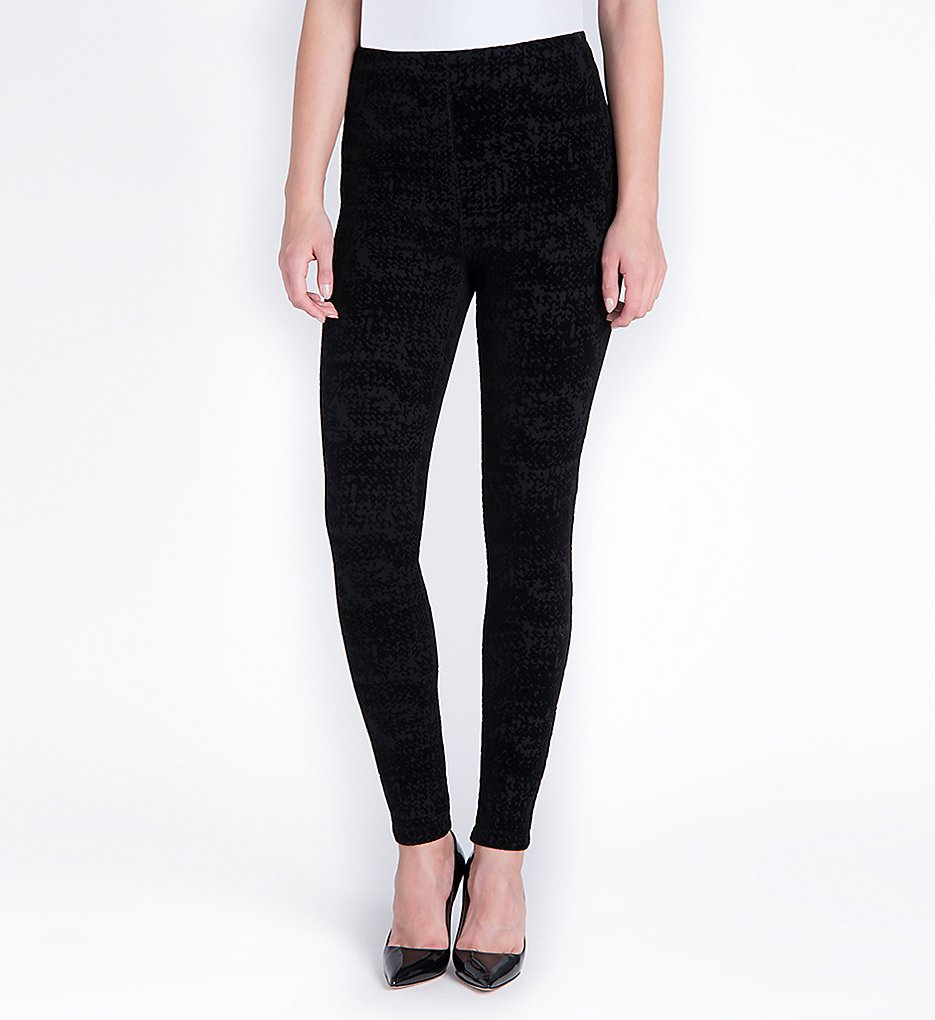 Lysse 1386 Victoria Flocking Leggings (Black)
