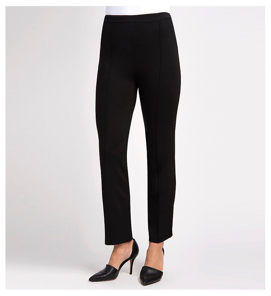 Lysse 1397 Ponte Crop Trouser (Black)